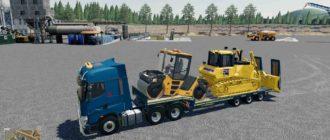 Мод на прицеп для тяжелой техники Farming Simulator 2019