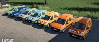 Мод на Peugeot Partner 2009 для Farming Simulator 2019