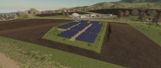 Мод на поле солнечных панелей для Farming Simulator 2019