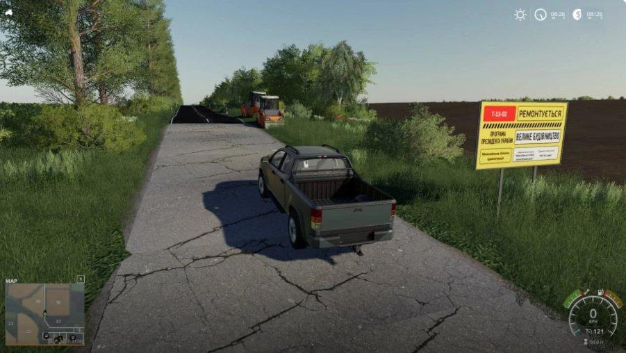 Мод на карту Николаевщина v2.0 для Farming Simulator 2019