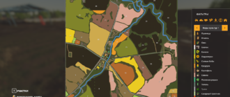 Мод на карту СПХК Новобиинский для Farming Simulator 2019