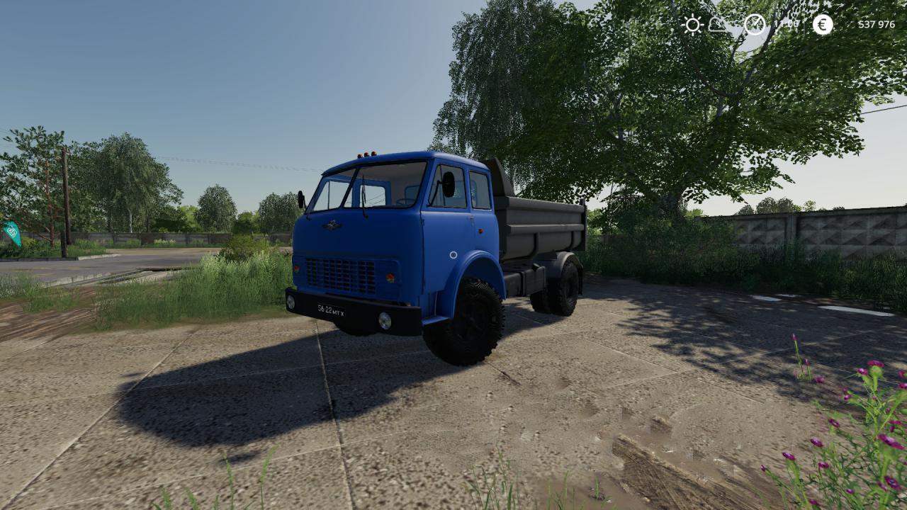 Мод на грузовик Маз 5549 для Farming Simulator 2019