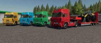 Мод на Tatra 815 4x4 NT для Farming Simulator 2019