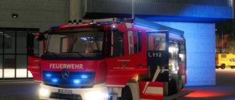 Мод на пожарную машину для Farming Simulator 2019