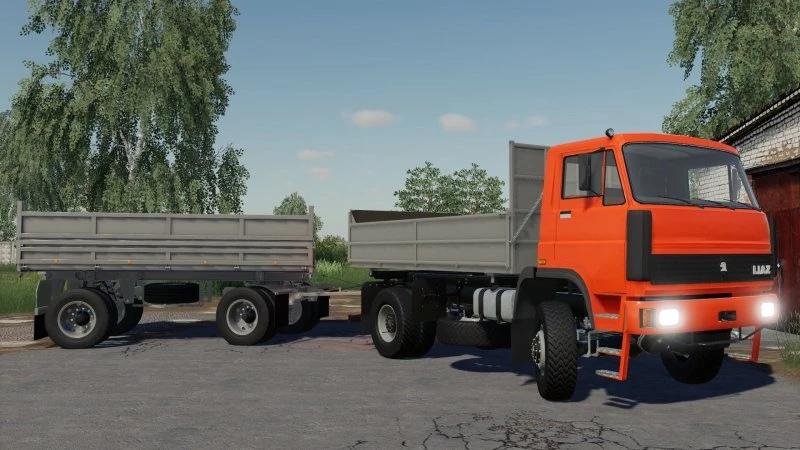 Мод на грузовик Liaz 150 для Farming Simulator 2019