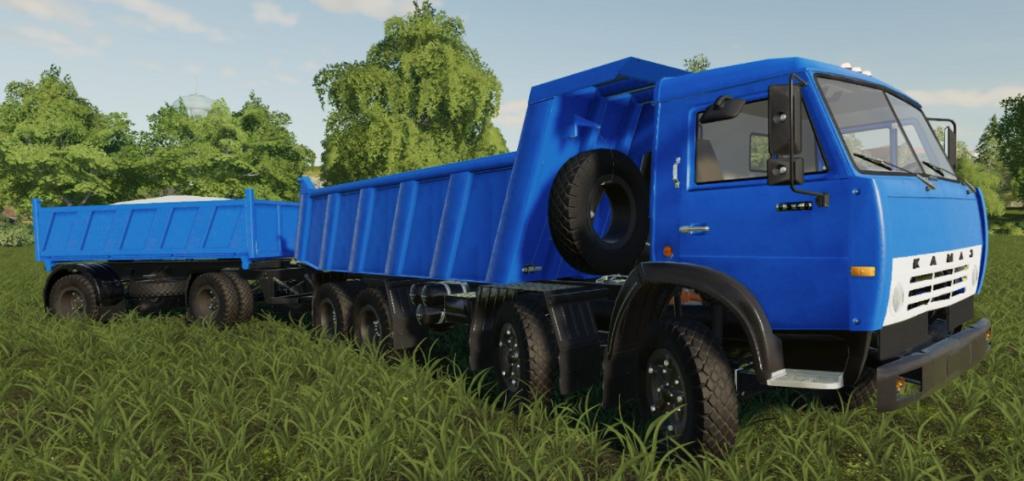 Камаз самосвал для Farming Simulator 2019