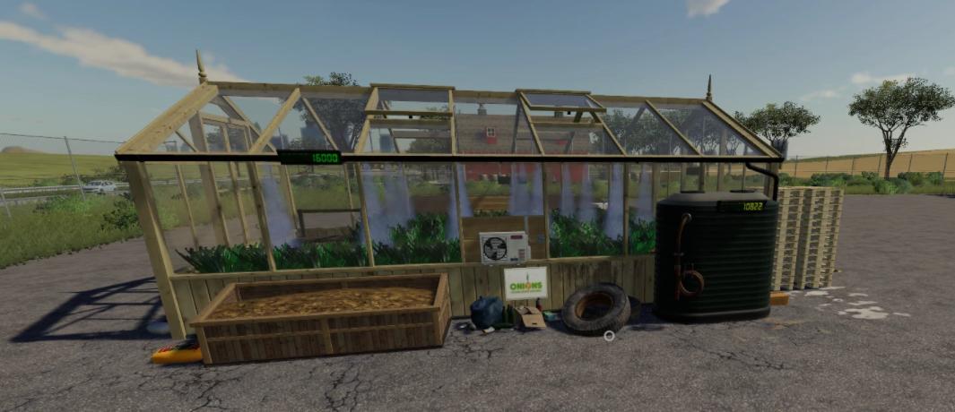 Мод на фабрику по выращиванию лука для Farming Simulator 2019