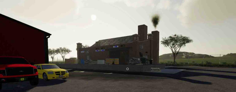 Мод на фабрику по производству печенья для Farming Simulator 2019