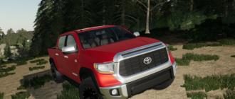 Мод на пикап Toyota Tundra Limited для Farming Simulator 2019