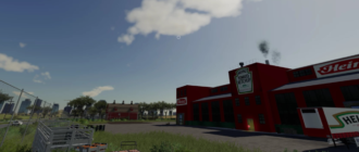 Мод на фабрику по производству кетчупа для Farming Simulator 2019