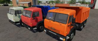 Мод на Камаз самосвал для Farming Simulator 2019