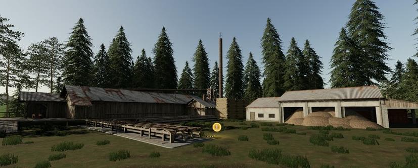 Мод на польскую карту Ostrowitko V2.2. для Farming Simulator 2019