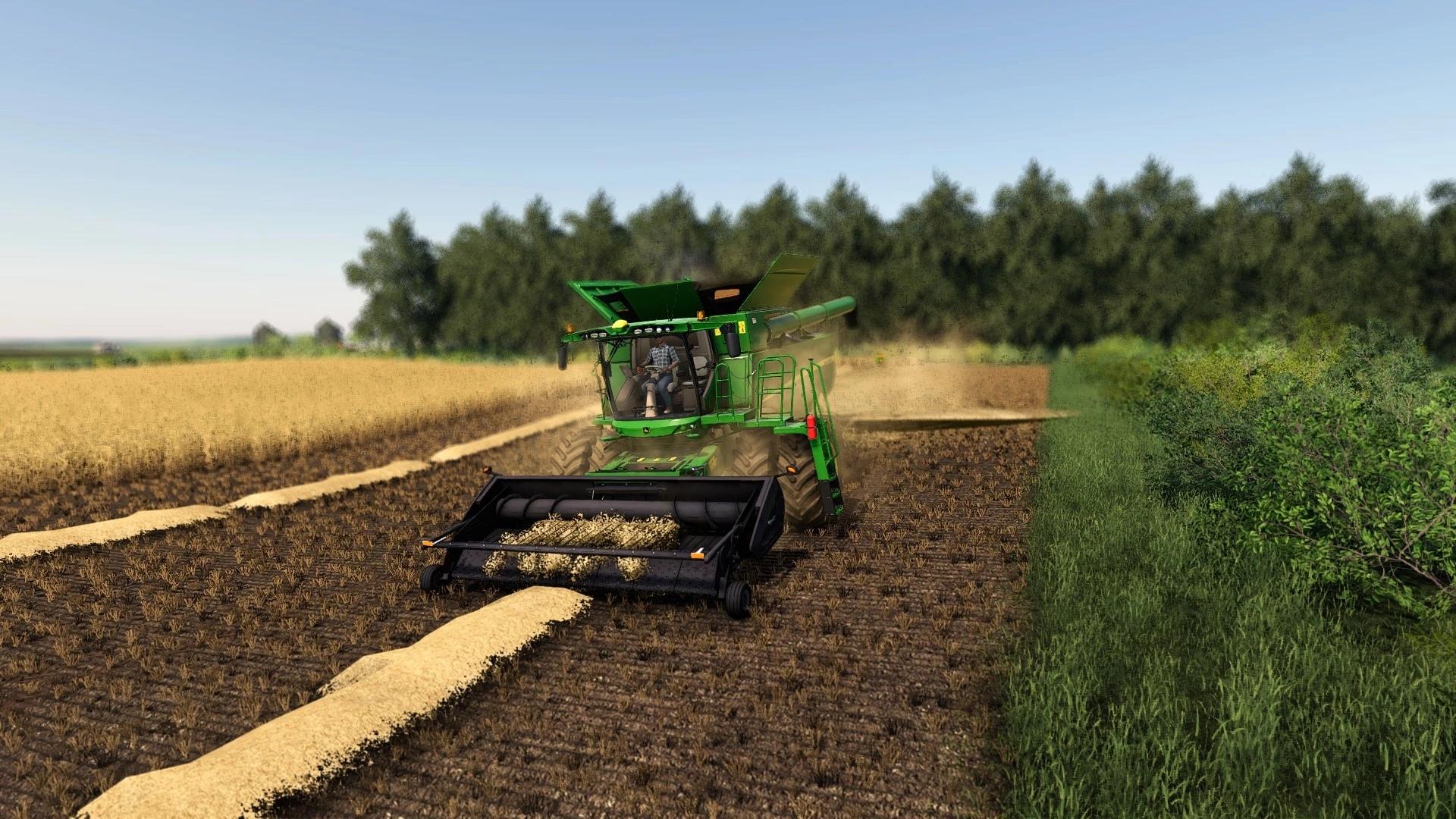 Мод MacDon PW8 Pick-Up для Farming Simulator 2019