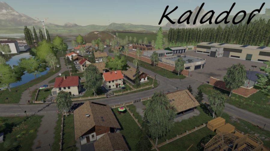 Карта Kalador для Farming Simulator 2019