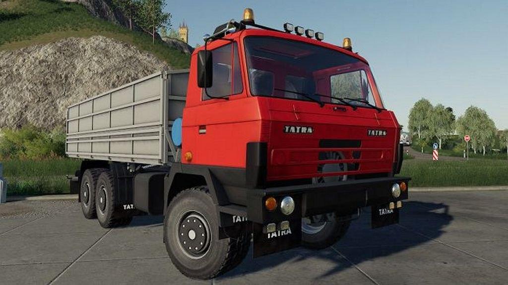 Мод на грузовик Tatra 815 для Farming Simulator 2019