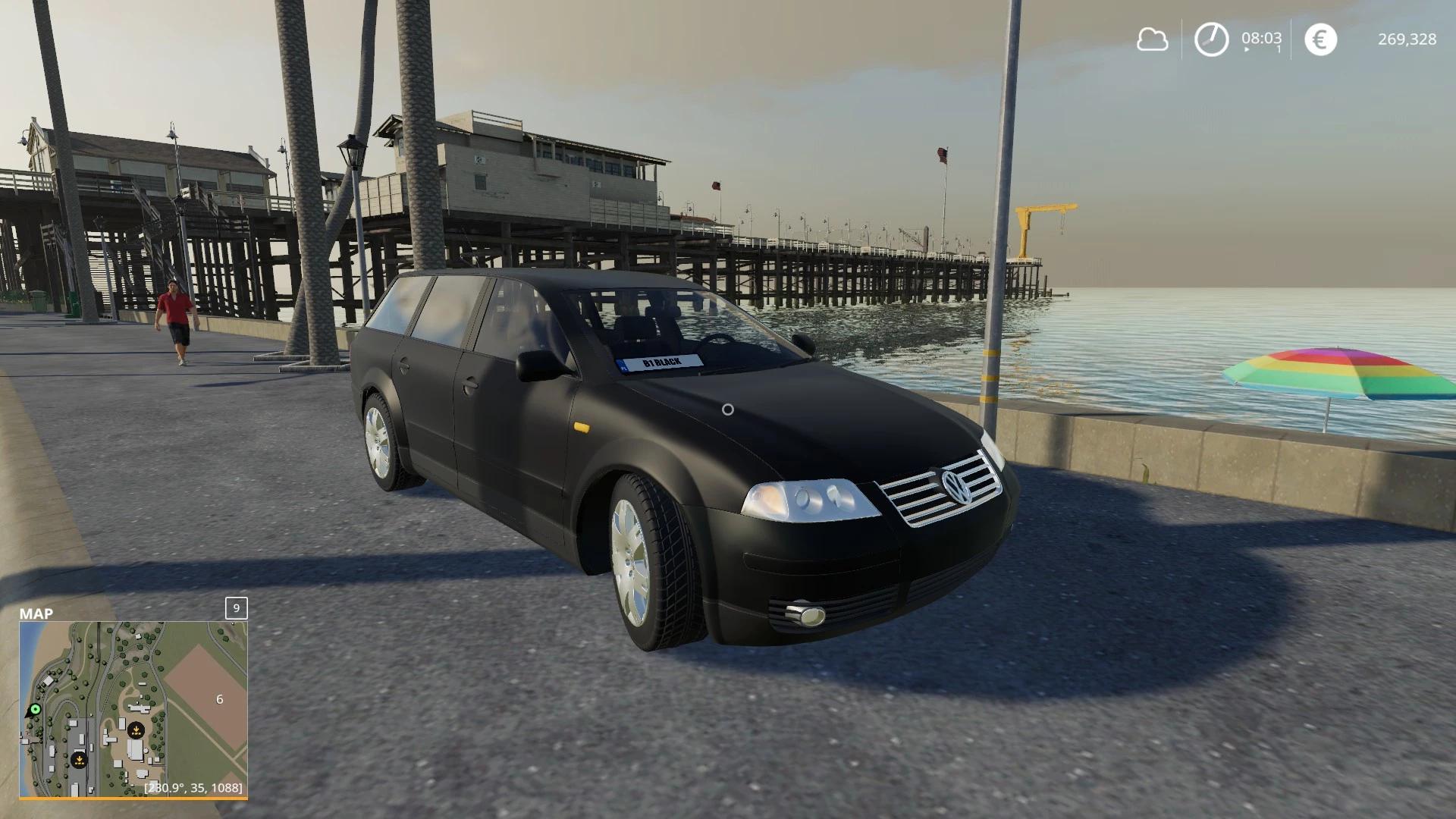 Мод на VW Passat B5 для Farming Simulator 2019