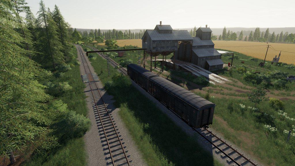 """Карта """"Пионер"""" переделка для Farming Simulator 2019"""