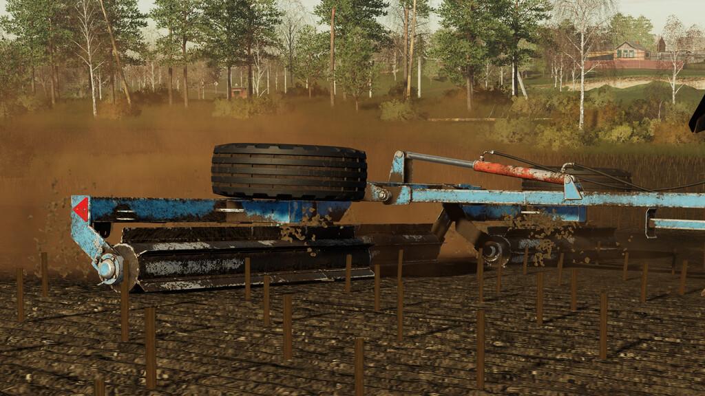 КЗК-6 для Farming Simulator 2019