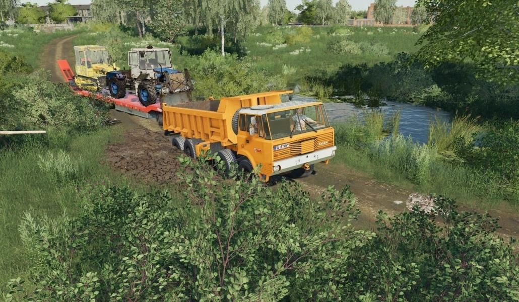 Мод на грузовик Tatra 813 Drtikol для Farming Simulator 2019