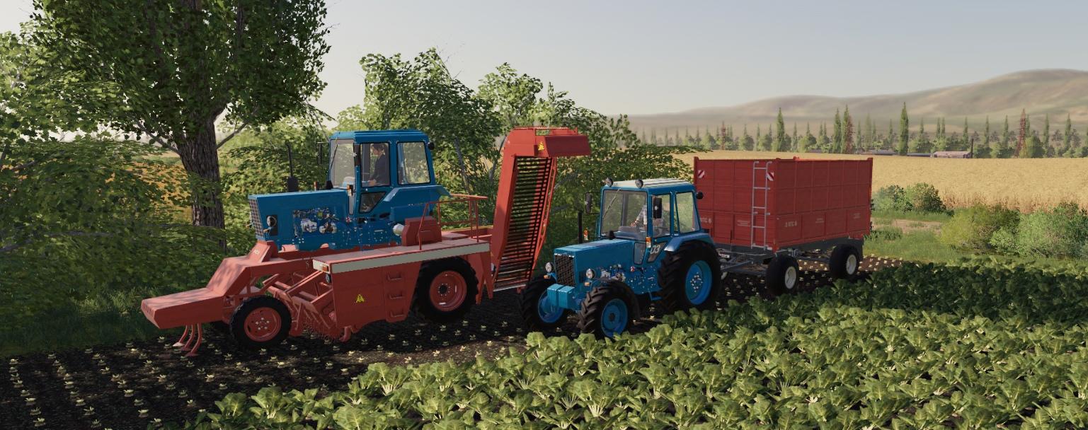 Обновленный мод-пак МТЗ для Farming Simulator 2019