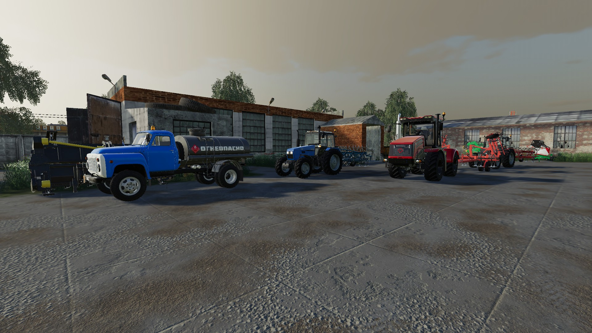 Мод на карту Балдейкино NEW для Farming Simulator 2019
