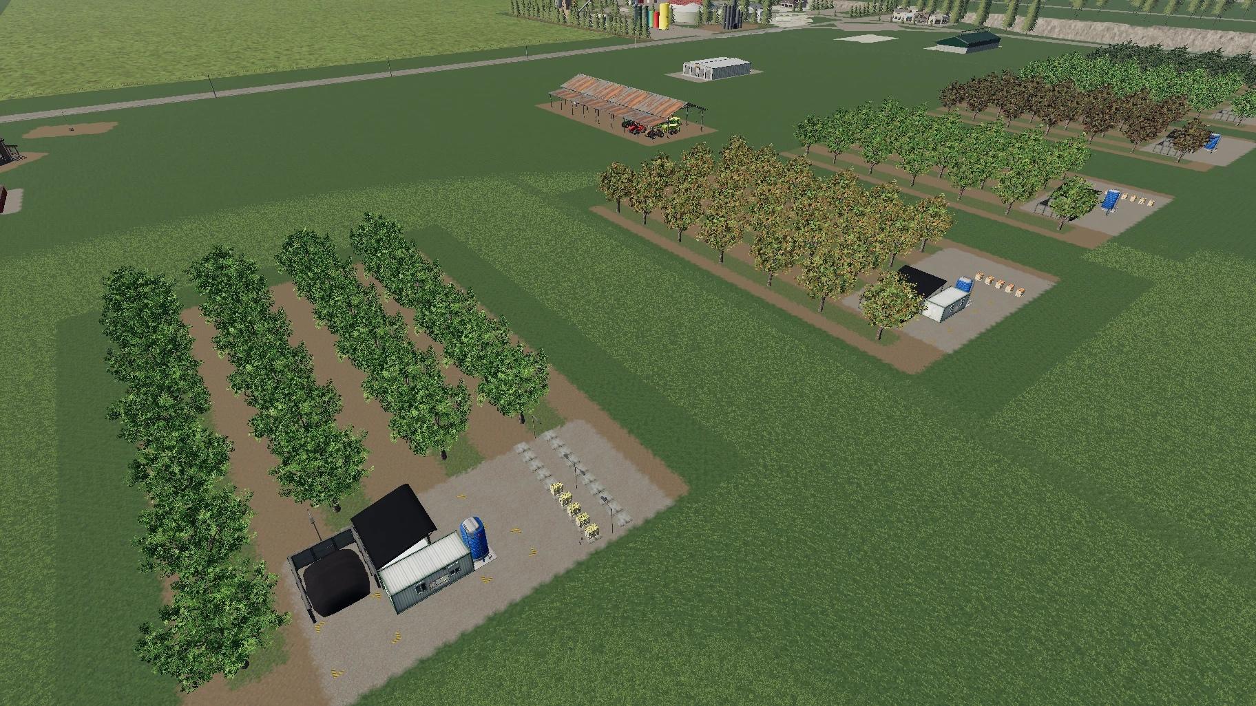 Мод на фруктовые сады для Farming Simulator 2019
