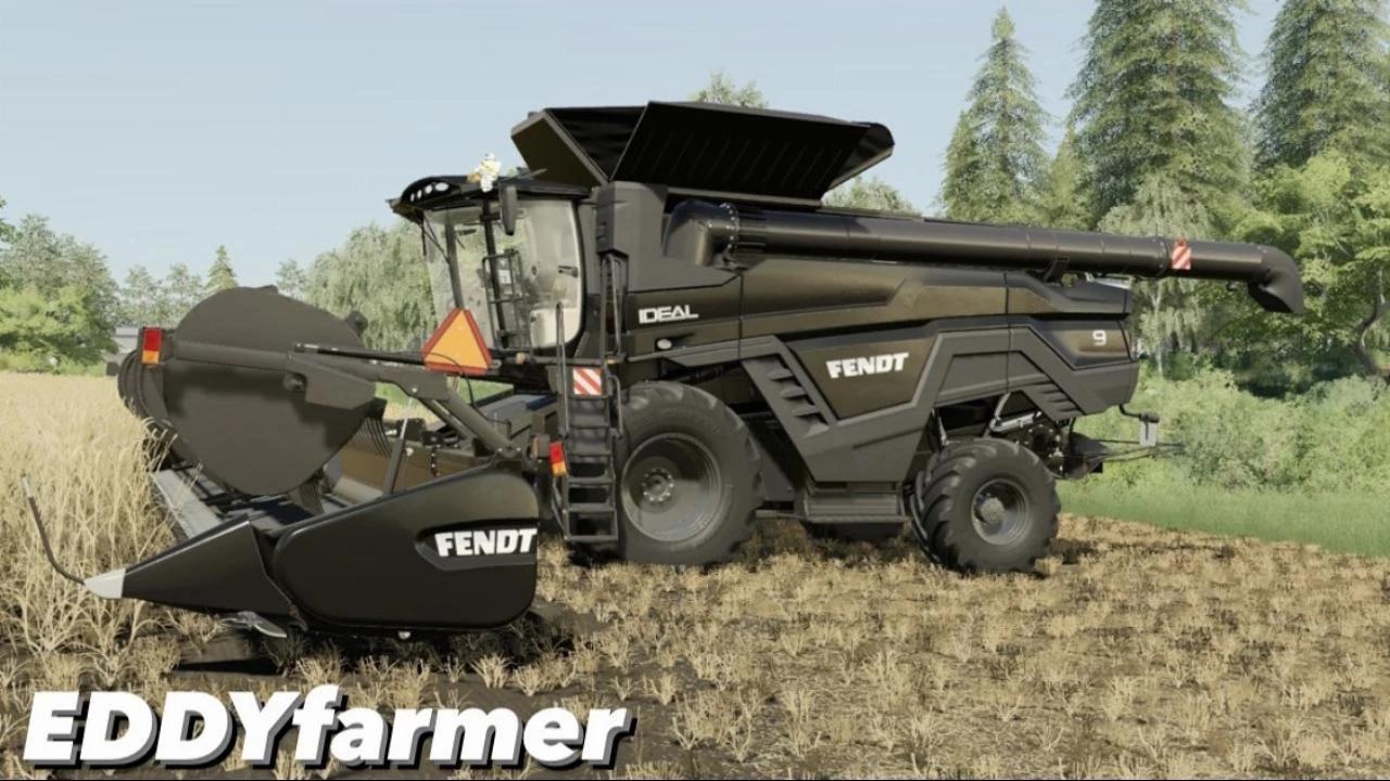 Мод на комбайн Fendt 8T-9T для Farming Simulator 2019