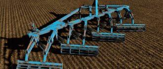 Мод на плуг ПСКу-8 v1.0 для Farming Simulator 2019