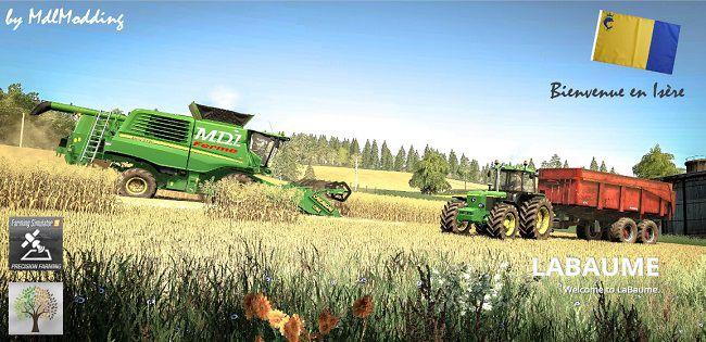 Мод на карту фермы Изера, Франция для Farming Simulator 2019