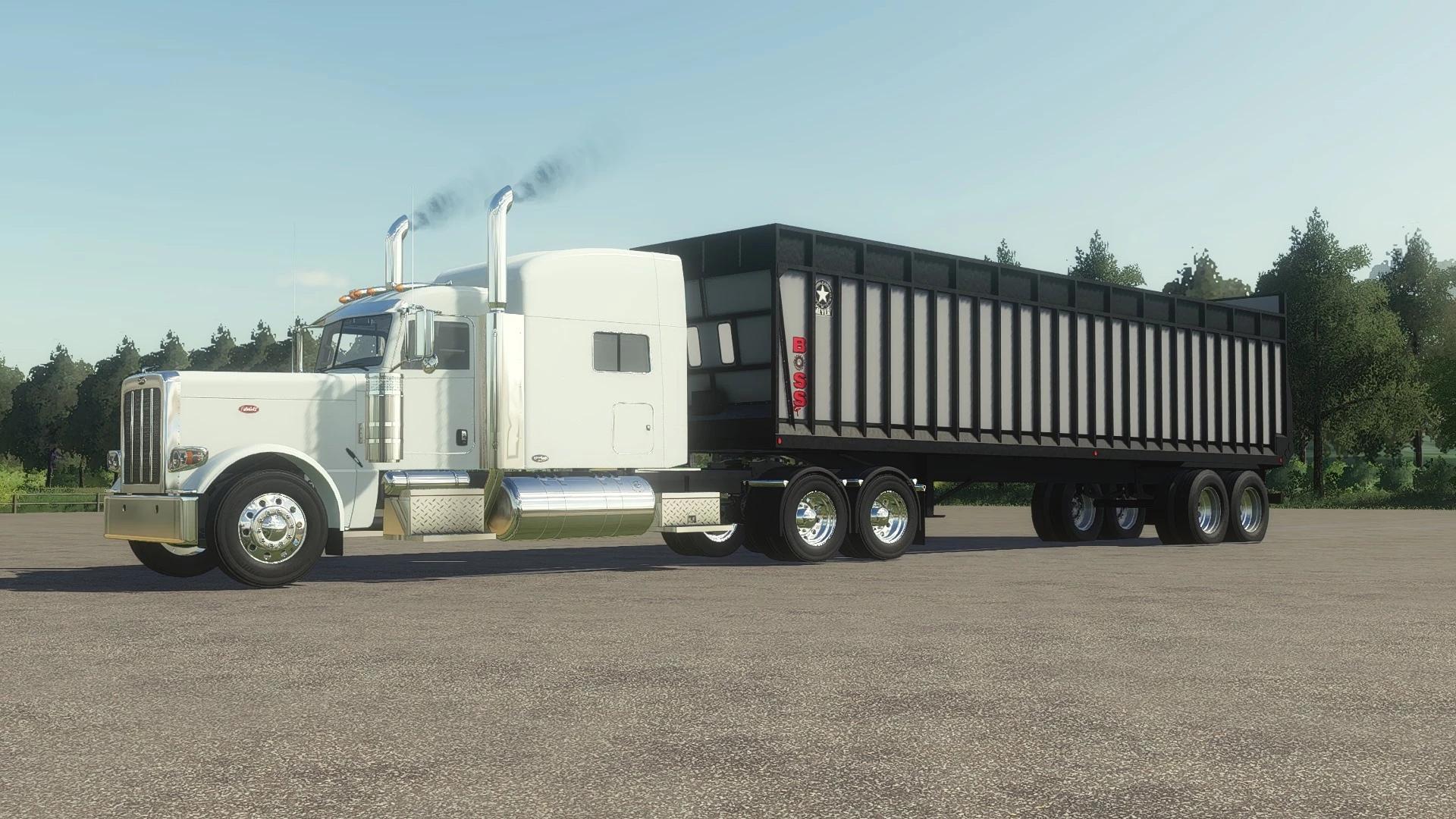 Мод на прицеп Meyer Boss 9140 RT для Farming Simulator 2019