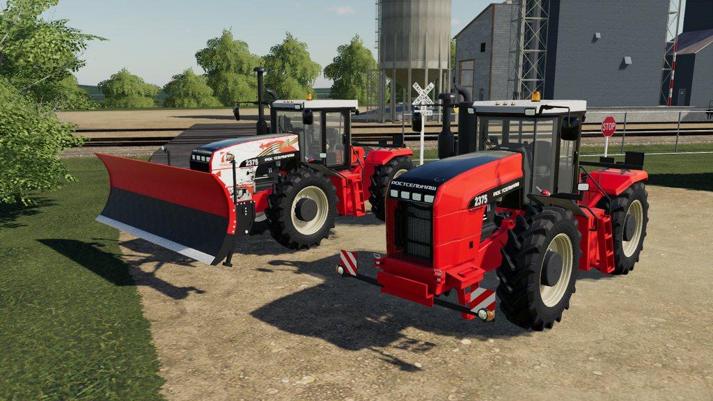 Мод на трактор RSM 2000 для Farming Simulator 2019