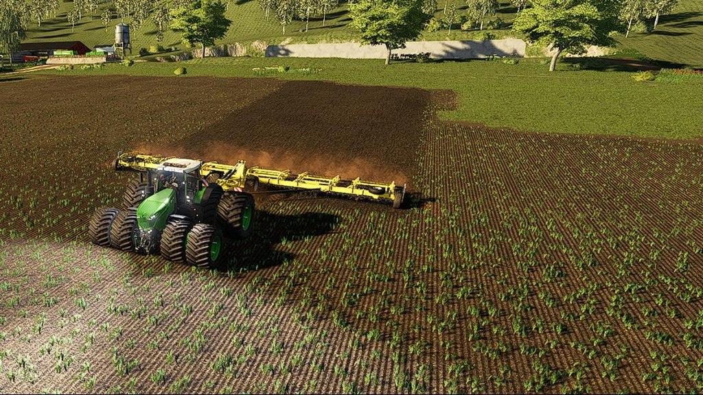 Мод на трактор Fendt 1000 для Farming Simulator 2019
