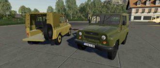 УАЗ 469 для Farming Simulator 2019