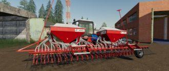 Мод на сеялку СПУ-6М для Farming Simulator 2019