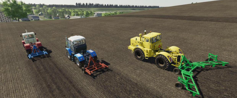 Мод на культиватор КПШ-9 для Farming Simulator 2019