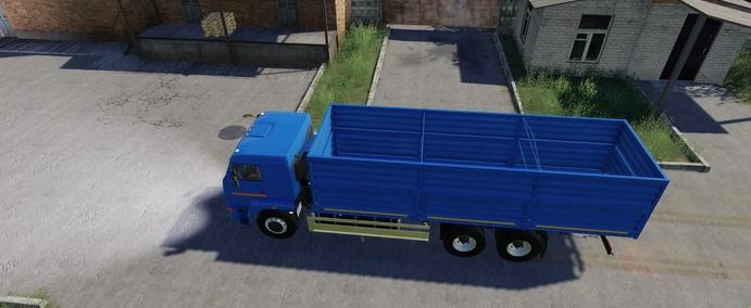 Мод на Камаз 65117 Grain Truck для Farming Simulator 2019