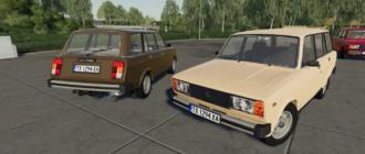 Скачать мод на Lada 2104/Ваз 2104 для Farming Simulator 2019