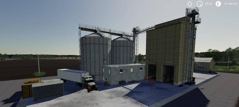 Мод на сахарный завод для Farming Simulator 2019
