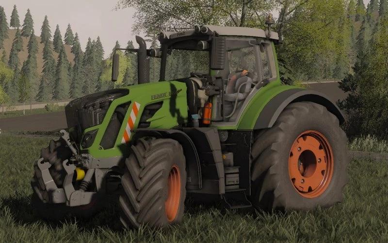 Мод на трактор Fendt 800 Vario S4 для Farming Simulator 2019