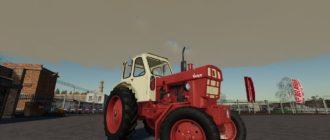 Мод на трактор ЮМЗ-6А для Farming Simulator 2019