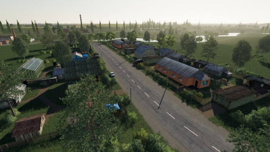 Мод на карту СПК Удмуртия для Farming Simulator 2019