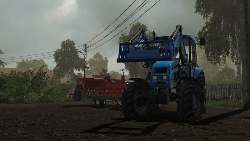 Мод на трактор МТЗ 1025 для Farming Simulator 2019