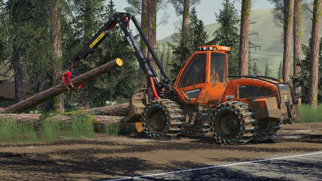 Sampo HR46 Multitrac для Farming Simulator 201