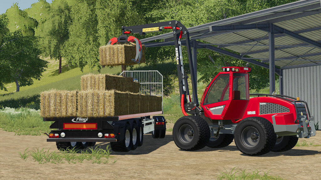 Мод на Sampo HR46 Multitrac для Farming Simulator 2019