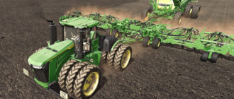 Мод на новый трактор John Deere 9R 2021 для Farming Simulator 2019