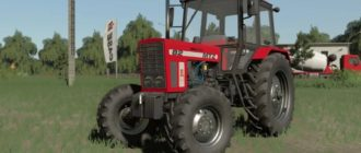 Мод на трактор МТЗ 82 Narew Brek для Farming Simulator 2019