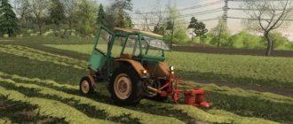Мод на трактор Ursus C 4011 для Farming Simulator 2019