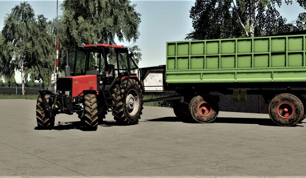 Мод на трактор МТЗ 1026 для Farming Simulator 2019