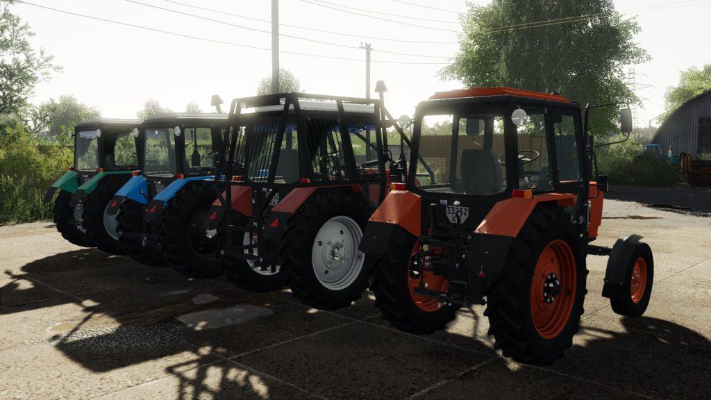 Трактор МТЗ-82/892/902 ЮМЗ для Farming Simulator 2019
