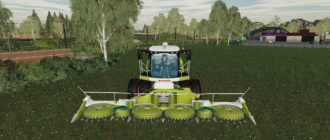 Мод на комбайн Claas Jaguar 800 для Farming Simulator 2019